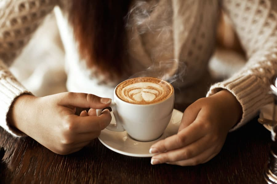 Tomar café sin prisa
